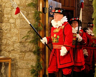 The beefeaters enter the church during the Boar's Head and Yule Log Festival at St. John's Episcopal Church on Sunday afternoon. EMILY MATTHEWS | THE VINDICATOR