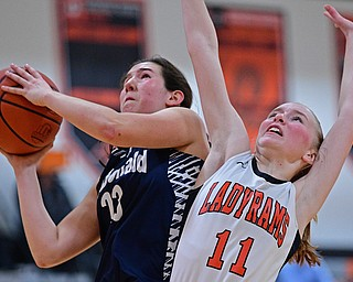 McDonald vs Mineral Ridge Girls Basketball