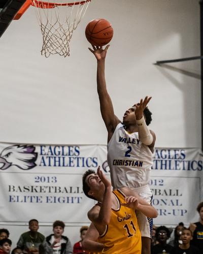 Mooney vs Valley christian Boys Basketball