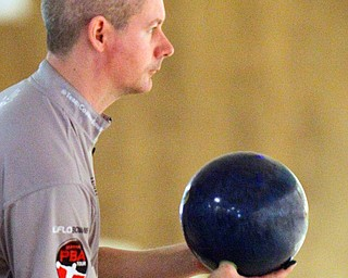 William D. Lewis The Vindicator PATRICK DOMBROWSKI competes in PBA event 3-24-19 at Bell Wick.