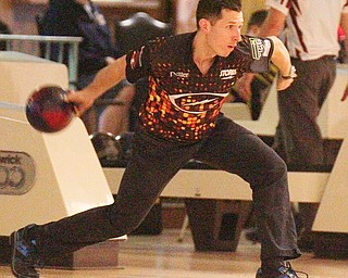 William D. Lewis The Vindicator  Matt O'Grady competes in PBA event 3-24-19 at Bell Wick.