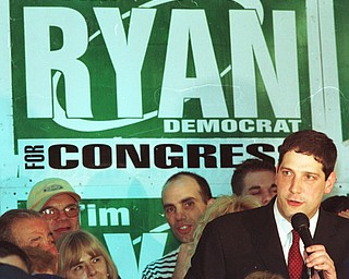 May 7, 2002: Tim Ryan on the campaign trail, seeking his first term to the U.S. House of Representatives.