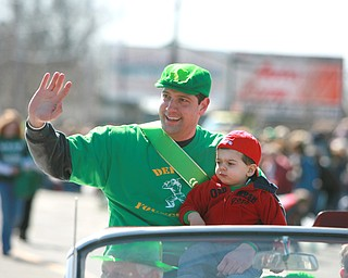 US Rep. Tim Ryan in the Valley's St. Patrick's Day parade in Boardman.