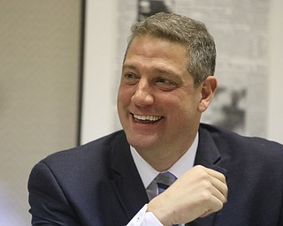 U.S. Rep. Tim Ryan at The Vindicator Monday, April 1, 2019