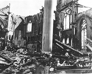 Sept.. 2, 2954: St. Columba Cathedral destroyed by fire.