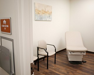 An exam room in the new Southwoods Pain and Spine Center on Monday morning. EMILY MATTHEWS | THE VINDICATOR