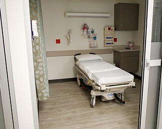 A patient room in the new Southwoods Pain and Spine Center on Monday morning. EMILY MATTHEWS | THE VINDICATOR