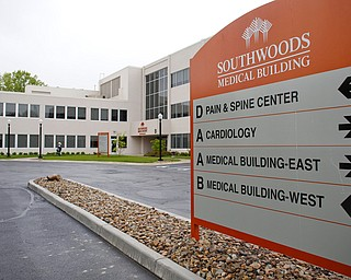 The new Pain and Spine Center at Southwoods will be having its ribbon cutting on Thursday. EMILY MATTHEWS | THE VINDICATOR