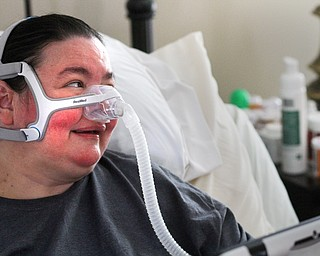 William D. Lewis the vindicator   Christine Terlesky, who has been battling ALS for 6 years.