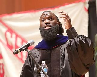 ROBERT K.YOSAY  | THE VINDICATOR..Chaney High School class of 2019. Stambaugh Auditorium Wilson Kwamogi Okello  commencement speaker