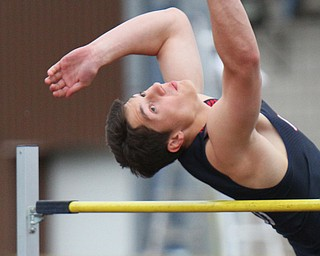 William D. Leiws the vindicator  Fitch's Nate Leskovac competes 5-24-19 at Fitch.