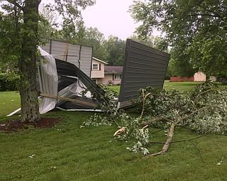 Tornado Damage Trumbull County