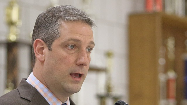 U.S. Rep. Tim Ryan of Howland, D-13th, raised nearly $900,000 for his presidential campaign. He said he's not disappointed with his fundraising, and he will likely appear in the next Democratic primary debate July 30-31 in Detroit.