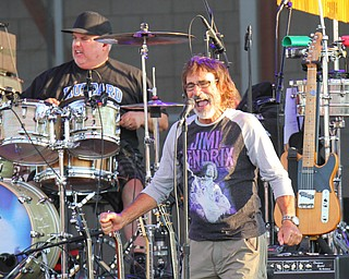 William D. Lewis The Vindicator  Donnie Iris performs 7-28-19 at Youngstown Amphitheater.