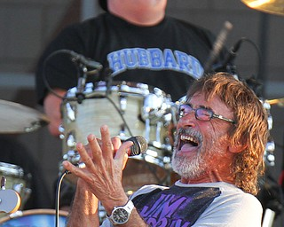 William D. Lewis The Vindicator  Donnie Irisperforms during concert 7-28-19 at Youngstown Amphitheater.