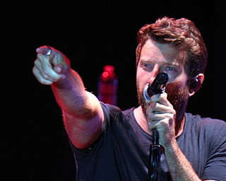 William D. Lewis the vindicator Brett Eldredge concert at Youngstown Amphitheater 8-2-19.