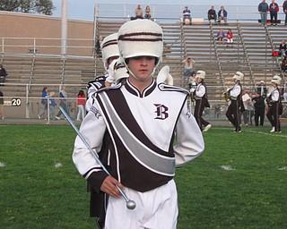 BSMB Drum Major - Senior Ben Howard