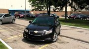 Vindicator business writer Grace Wyler test drives a new Chevrolet Cruze.