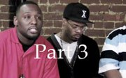 A group of African American males talk about the situation in Youngstown. Part 3