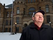 Every day for the last three years, George Prvonozac has taken a walk around Courthouse Square in Warren. The walk isn't for his well being, he says, but for all of Warren.   Prvonozac uses his walks as an opportunity for prayer. He prays for the local businesses, the local government, the Youngstown area, the nation and lately his prayers have included hotspots in the world including Egypt and Libya.  Since retiring after thirty years with Delphi in 2001, George has spent his time devoted to learning and spreading the word of God through prayer and community.