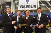 Brilex Industries and Houston-based Valerus formally opened their 50,000 square-foot facility on Andrews Avenue Wednesday.  
