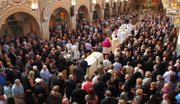 Mourners filled St. Dominic Church for the funeral of Carmine Cassese