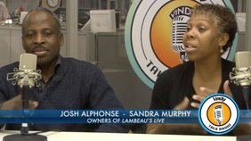 Josh Alphonse and Sandra Murphy, the co-owners of Flambeau's Live talk about how what brought them to the Mahoning Valley.