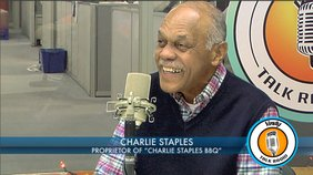 "Charlie Staples, owner and manager of ""Charlie Staples Barbecue"" discusses how an article in The Vindicator boosted his sales."