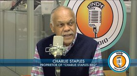 "Charlie Staples, owner and manager of ""Charlie Staples Barbecue"" discusses how he started in the barbecue business."