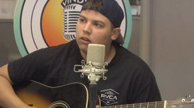 """The band """"Northern Whale"""" performs their original song """"Scary Monsters"""", live on Vindy Talk Radio."""