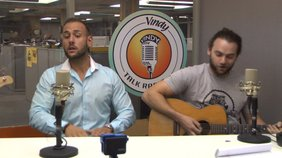 Jones for Revival performs their original song while on Vindy talk Radio.