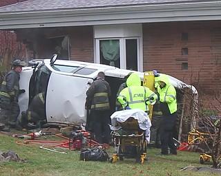 Car vs House Crash