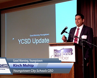 Krish Mohip Speaks at Good Morning Youngstown