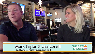 Valley Deals 365 - Riser Tavern & Grill Video