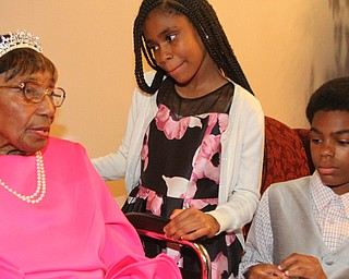 Rev. Flonerra Henry-Harris turns 100